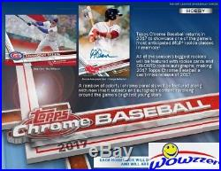 2017 Topps Chrome Baseball Factory Sealed 12 Box HOBBY CASE-24 AUTOGRAPHS