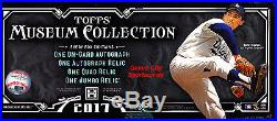 2017 Topps Museum Collection Baseball Factory Sealed Hobby Box