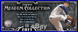 2017 Topps Museum Collection Baseball SEALED HOBBY BOX (4 Hits)