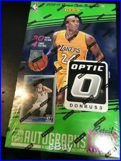 2018/19 Panini Donruss OPTIC Basketball HUGE Sealed 20 Pack Retail Box Koby Hot