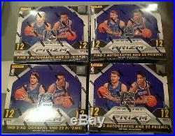 2018/19 Panini Prizm Basketball FOTL Sealed Hobby Box 12 Boxes 1 Case Worth