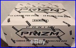 2018-19 Panini Prizm NBA Basketball Factory Sealed Cello Box 12 packs per box