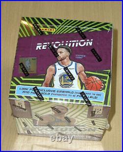 2018-19 Panini Revolution Chinese New Year sealed basketball box Luka Doncic