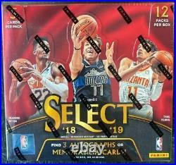 2018-19 Panini SELECT Basketball Hobby Box NBA factory sealed new NIB Luka Trae