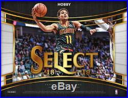 2018/19 Panini Select Basketball Hobby Factory Sealed Box