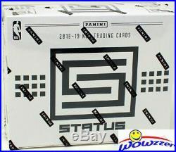 2018/19 Panini Status Basketball Factory Sealed JUMBO FAT Box-180 Cds-LUKA RC Yr