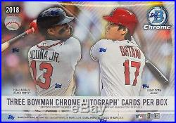 2018 Bowman Chrome Baseball HTA Choice Hobby Box Factory Sealed! RookiesHQ