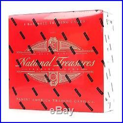 2018 National Treasures Baseball Cards Unopened Factory Sealed Hobby Box