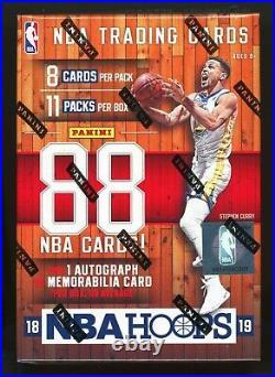 2018 PANINI NBA HOOPS BASKETBALL SEALED 11 PACK BLASTER BOX retail 18/19