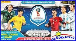 2018 Panini Prizm FIFA World Cup Russia Soccer HUGE Factory Sealed HOBBY Box