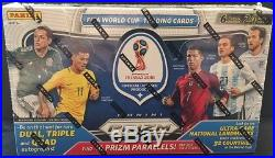 2018 Panini Prizm Russia Fifa World Cup Soccer Hobby Sealed Box In Stock