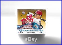 2018 Topps Baseball Update Series Sealed Jumbo Hobby Box (HOT)