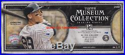 2018 Topps Museum Collection Baseball Factory Sealed Hobby Box