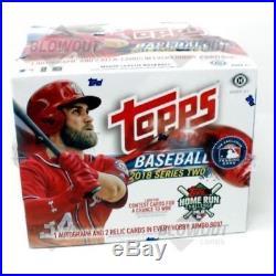 2018 Topps Series 2 Jumbo Baseball Box + 2 Silver Packs Factory Sealed