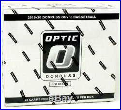 2019-20 Donruss Optic Factory Sealed Cello Box