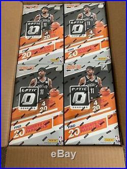 2019-20 Donruss Optic NBA Basketball Sealed Retail Box 20 Packs / Box