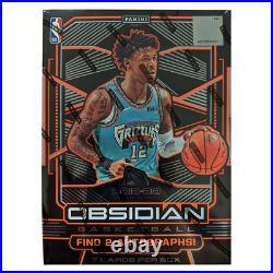 2019-20 NBA Obsidian Basketball Factory Sealed Hobby Box NEW Zion Ja Morant
