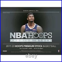 2019-20 PANINI HOOPS PREMIUM STOCK BASKETBALL FACTORY SEALED HOBBY BOX Hybrid