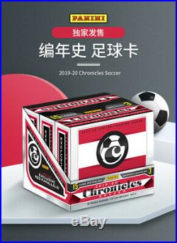 2019-20 Panini Chronicles Soccer Sealed China Tmall Box FREE SHIPPING