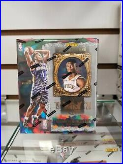 2019-20 Panini Court Kings Basketball Factory Sealed Hobby Box
