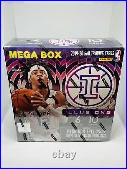 2019-20 Panini Illusions Basketball NBA Mega Box Brand New Sealed
