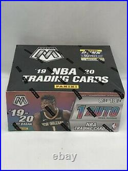2019-20 Panini Mosaic Fast Break NBA Basketball Factory Sealed Hobby Box Rookies