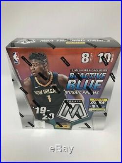 2019-20 Panini Mosaic NBA Basketball cards MEGA Box Brand NEW SEALED