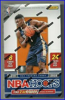 2019/20 Panini NBA Hoops Basketball Factory Sealed Hobby Box