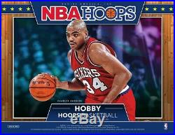 2019-20 Panini Nba Hoops Basketball Hobby Sealed Box