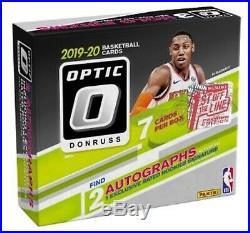 2019-20 Panini Optic FOTL Basketball 1st Off The Line Factory Sealed Hobby Box