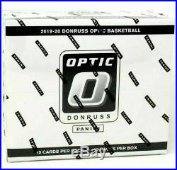2019-20 Panini Optic Multi Pack Cello Box NBA Basketball Box Factory Sealed box