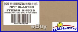 2019/20 Panini PRIZM Basketball EXCLUSIVE Sealed 20 Box Blaster CASE-20 AUTO/MEM
