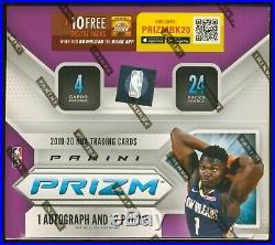 2019-20 Panini PRIZM NBA Basketball SEALED 24-Ct RETAIL BOX