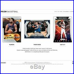 2019-20 Panini Prizm Basketball Factory Sealed HOBBY Box HOT
