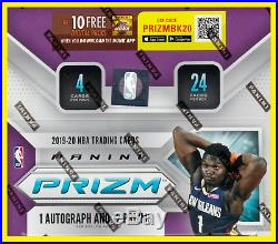 2019-20 Panini Prizm- Basketball Factory Sealed Retail Box Ships Now