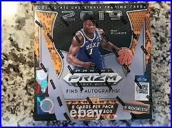 2019/20 Panini Prizm Draft Basketball Sealed Hobby Box