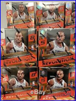 2019-20 Panini Revolution Basketball Factory Sealed Hobby Box NBA