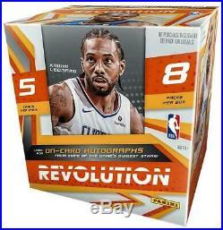 2019-20 Panini Revolution Hobby Basketball Factory Sealed Unopened Box (8ct)