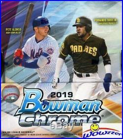 2019 Bowman Chrome Baseball Factory Sealed 12 Box HOBBY CASE-24 AUTOGRAPHS