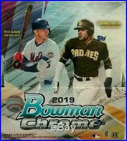 2019 Bowman Chrome Baseball Factory Sealed Hobby Box 2 AUTO