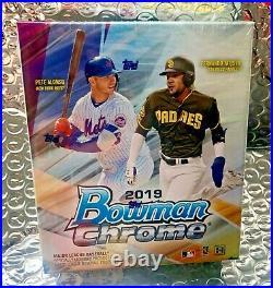 2019 Bowman Chrome Baseball Factory Sealed Unopened MINI BOX 1 Autograph