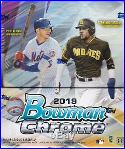 2019 Bowman Chrome Hobby Box Factory Sealed 2 Autos