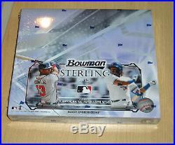 2019 Bowman Sterling baseball factory sealed hobby box