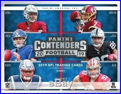 2019 Panini Contenders Football Hobby Sealed Box Pre-order