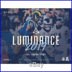2019 Panini Luminance Football Hobby Sealed Box Pre-order