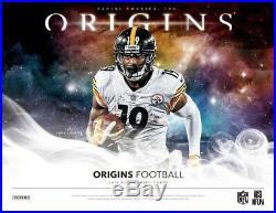 2019 Panini Origins Football (08/21) Factory Sealed Hobby Box 3 Hits Per Box