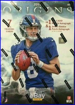 2019 Panini Origins Football Sealed Hobby Box 7 Cards 3 Auto/Mem Murray Jones RC