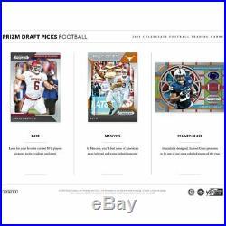2019 Panini Prizm Draft Picks Football Hobby Box FACTORY-SEALED Pre-Order NEW