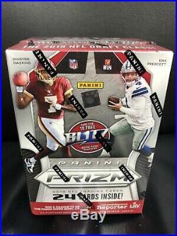 2019 Panini Prizm Football Blaster Box. 6pk/4 Cards Per Pack. Factory Sealed