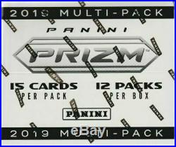 2019 Panini Prizm NFL Football Factory Sealed Jumbo Multi Pack Cello Box